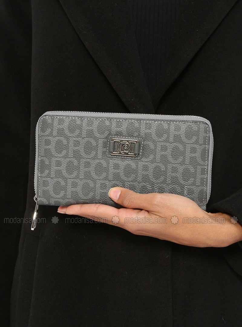 Gray - Wallet - Pierre Cardin
