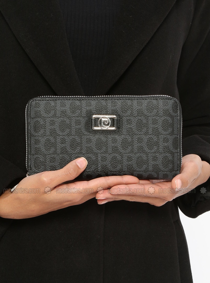Black - Wallet - Pierre Cardin