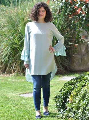 Mint - Crew neck - Tunic