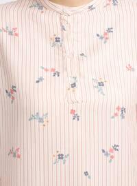 Powder - Button Collar - Stripe - Pyjama