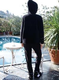 Black - Cotton - Pyjama