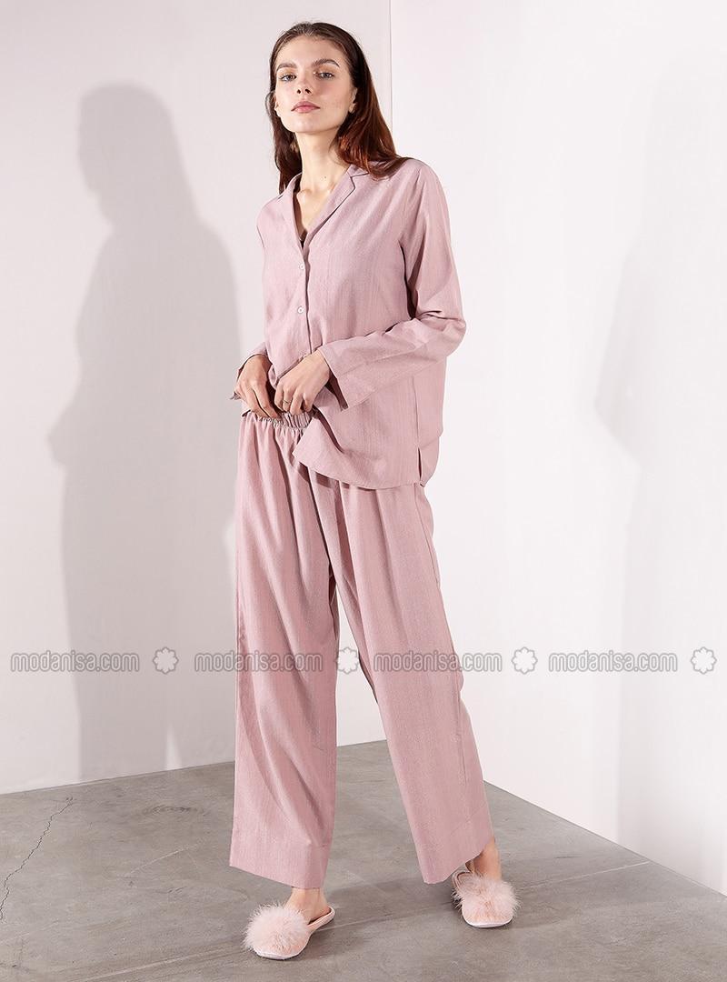 Powder - V neck Collar - Pyjama