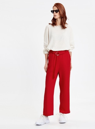 Pantolon - Kırmızı - LC WAIKIKI Ürün Resmi