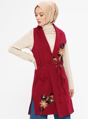 Cherry - Unlined -  - Vest