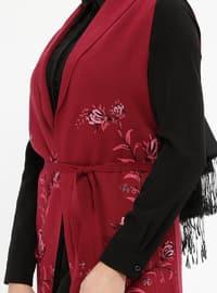 Fuchsia - Unlined -  - Vest