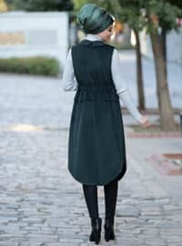 Emerald - Fully Lined - Shawl Collar - Vest