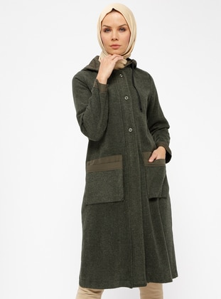Khaki - Unlined - Topcoat