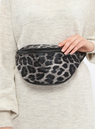 Gray - Clutch - Bum Bag