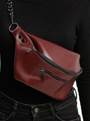 Maroon - Clutch - Bum Bag