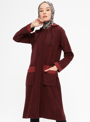 Maroon - Unlined - Topcoat