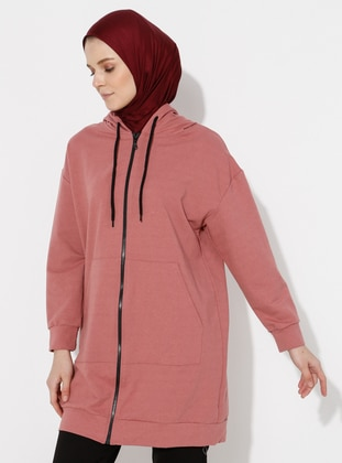 Dusty Rose - Cotton - Tracksuit Top