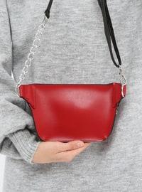 Red - Clutch - Bum Bag