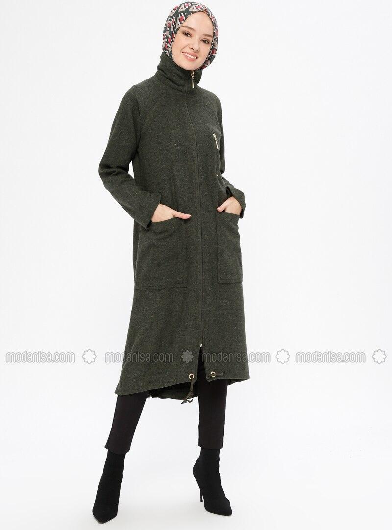 Khaki - Unlined - Point Collar - Topcoat
