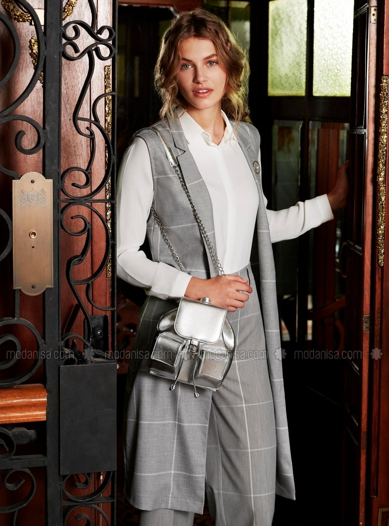 Gray - Vest