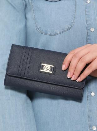 Navy Blue - Wallet - Pierre Cardin