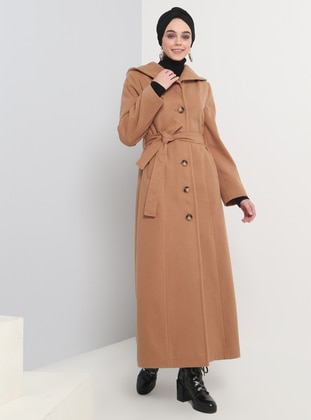 Camel - Fully Lined - Coat