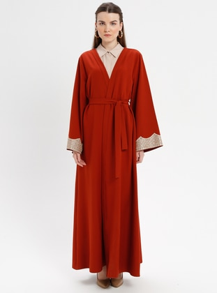 Terra Cotta - Unlined - Abaya