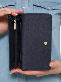 Navy Blue - Wallet - Pierre Cardin