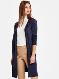 Navy Blue - Cardigan