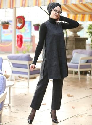 Anthracite - Cotton - Suit