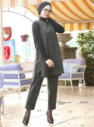 Khaki - Cotton - Suit