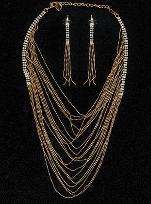 Golden tone - Accessories Set