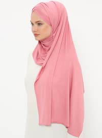 Dusty Rose - Plain - Pinless - Instant Scarf
