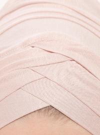 Powder - Plain - Viscose - Instant Scarf