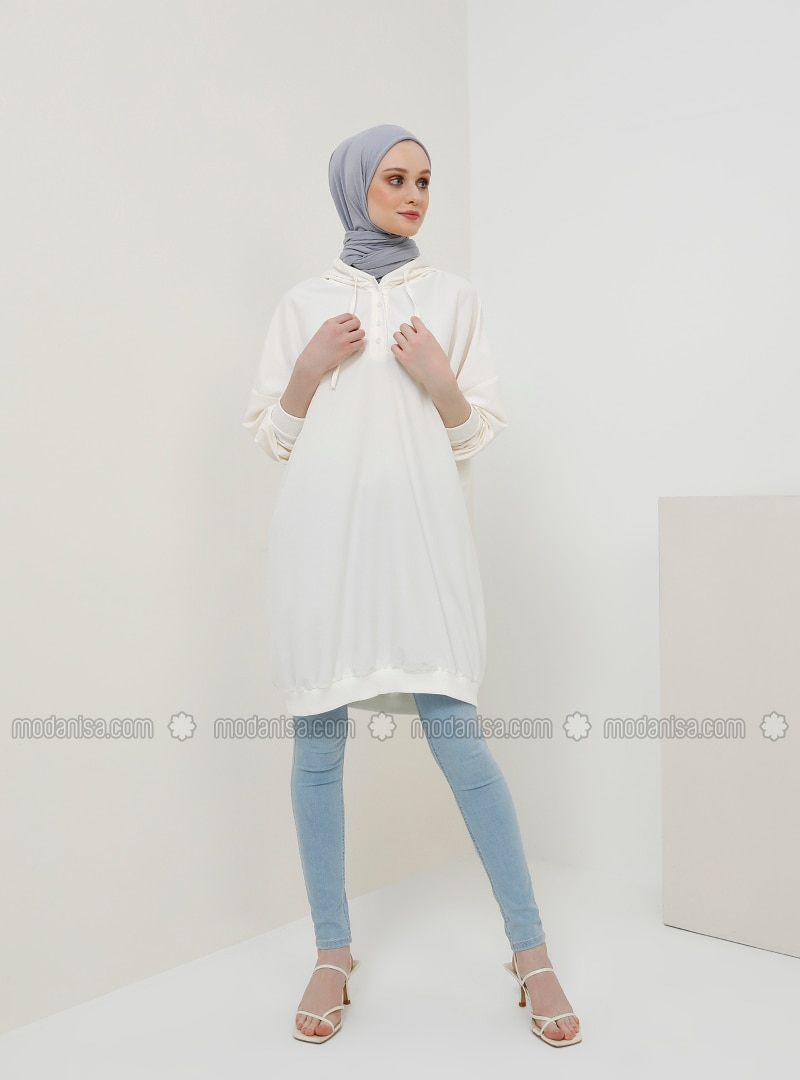 White - Ecru - Tunic