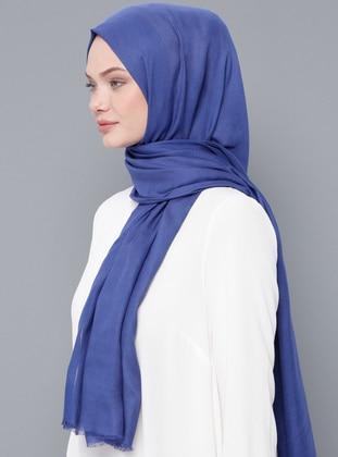 Saxe - Plain - Wool Blend - Modal - Shawl