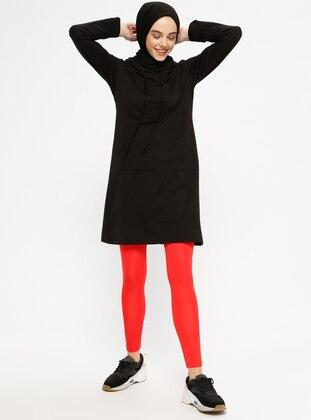 Orange - Plus Size Leggings