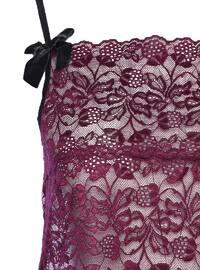 Black - Purple - Pyjama