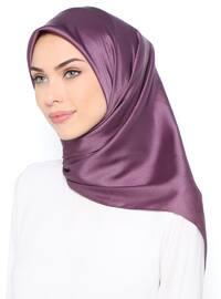 Purple - Plain - Scarf
