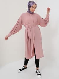 Powder - Point Collar - Cotton - Tunic - Everyday Basic