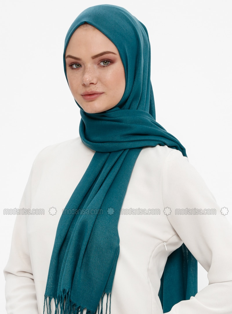 Emerald - Plain - Pashmina - Shawl