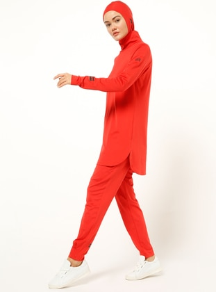 Red - Tracksuit Bottom
