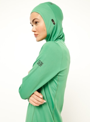 Green - Sports Bonnet