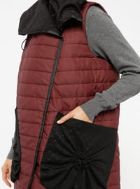 Maroon - Fully Lined - Vest
