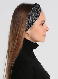 Black - Ecru - Bonnet