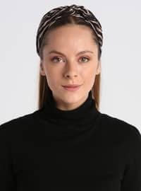 Black - Beige - Bonnet