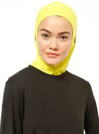 Yellow - Sports Bonnet