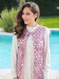 Rose - Unlined - Shawl Collar - Vest