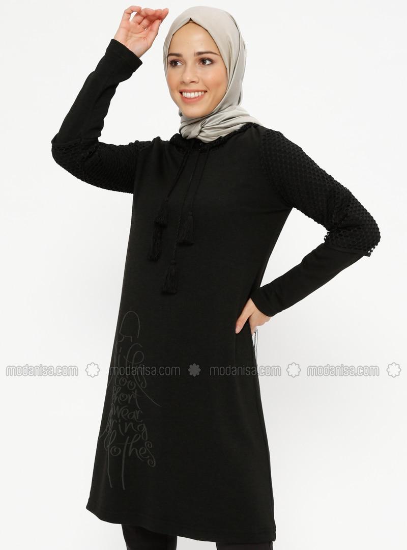 Black -  - Tunic