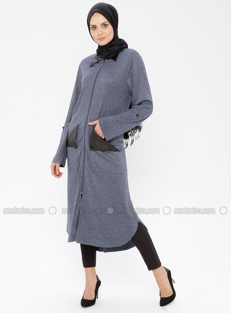 Indigo - Unlined - Point Collar - Topcoat