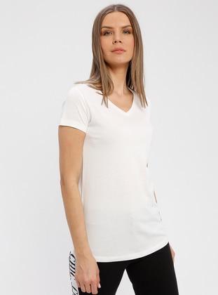 White - Ecru - Corset