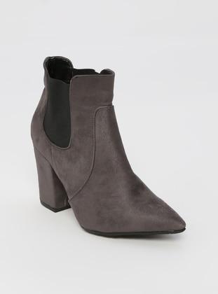 Gray - Boot - Boots - Sitill