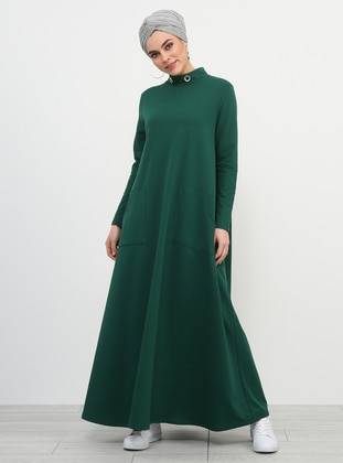 Emerald - Polo neck - Unlined - Dresses