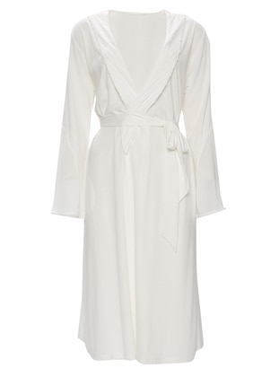 White - Ecru - Morning Robe