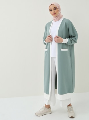 Green Almond - Cotton - Cardigan