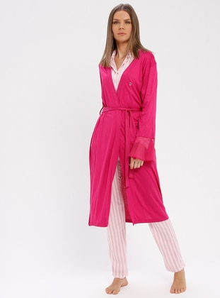 Fuchsia - Morning Robe